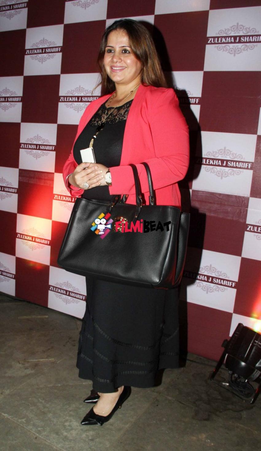Celebs at Designer Zulekha Shariff Collection Launch Photos