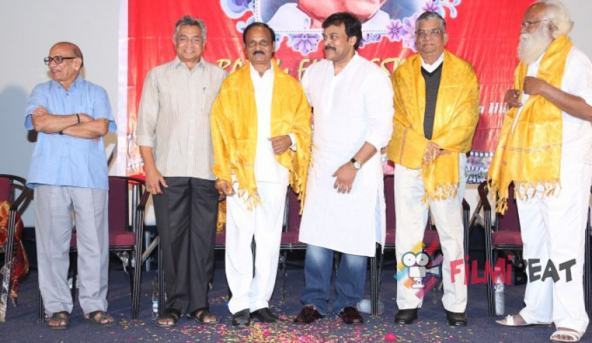 Chiranjeevi's Speech At Bapu Film Festival 2014 Photos