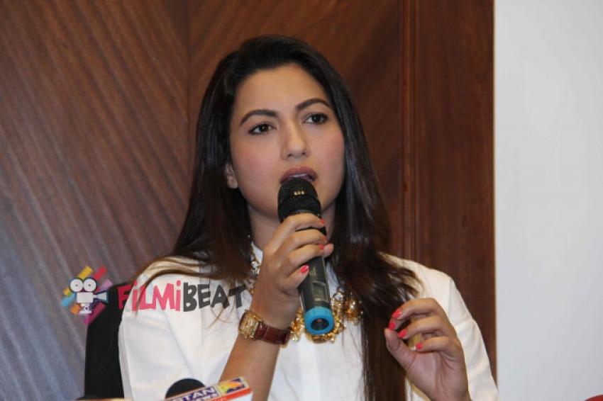 Gauhar Khan Speaks About Slapgate Incident Photos