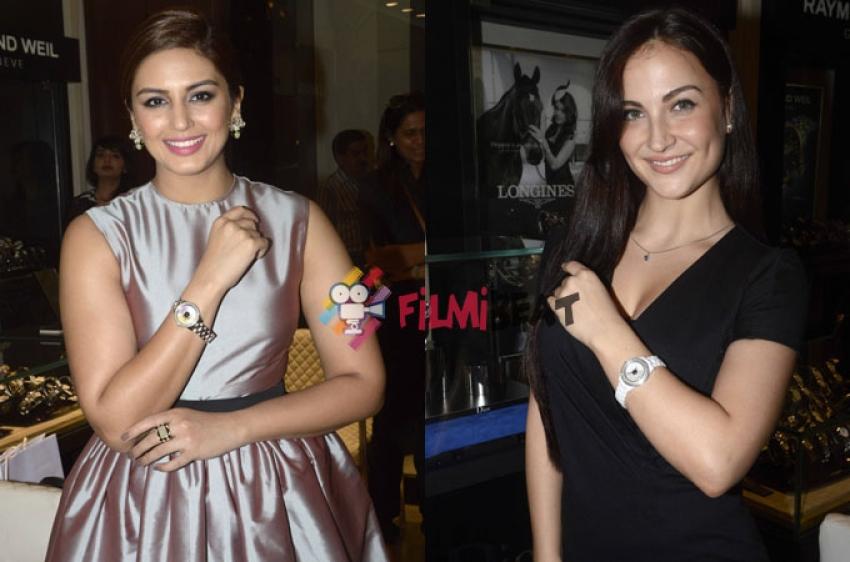 Elli Avram And Huma Qureshi Launch Dior Watches Photos