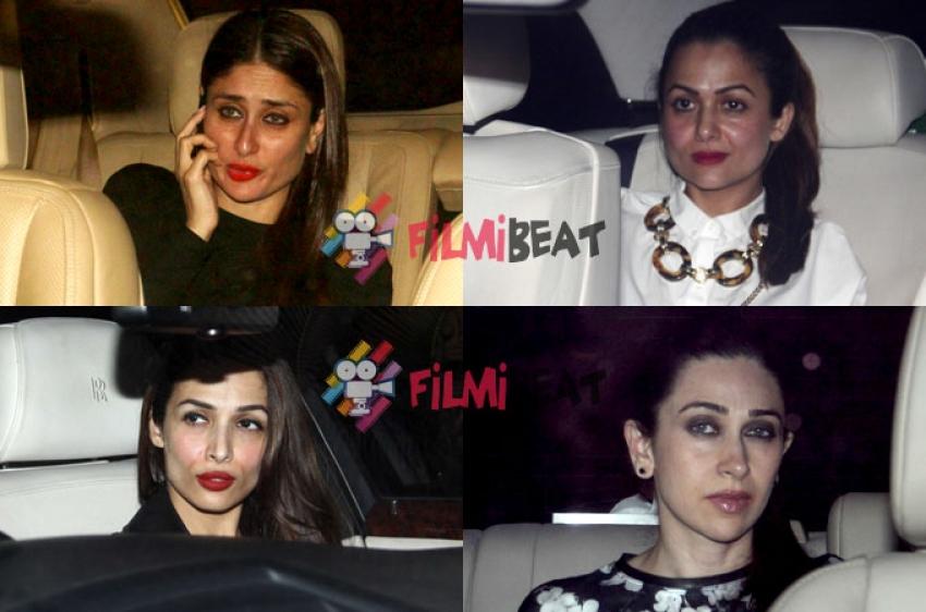 Celebs Spotted At Karan Johar's House Photos