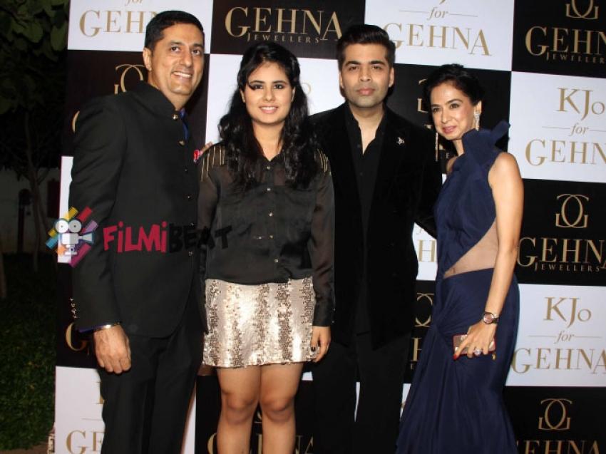 Ileana, Karan, Nimrat At KJo For Gehna Launch Photos