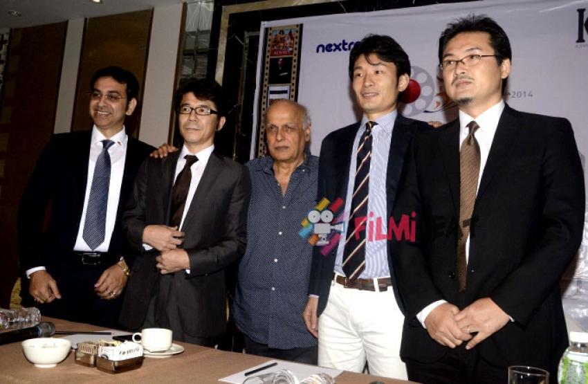 Mahesh Bhatt At Japan Film Festival Press Meet Photos