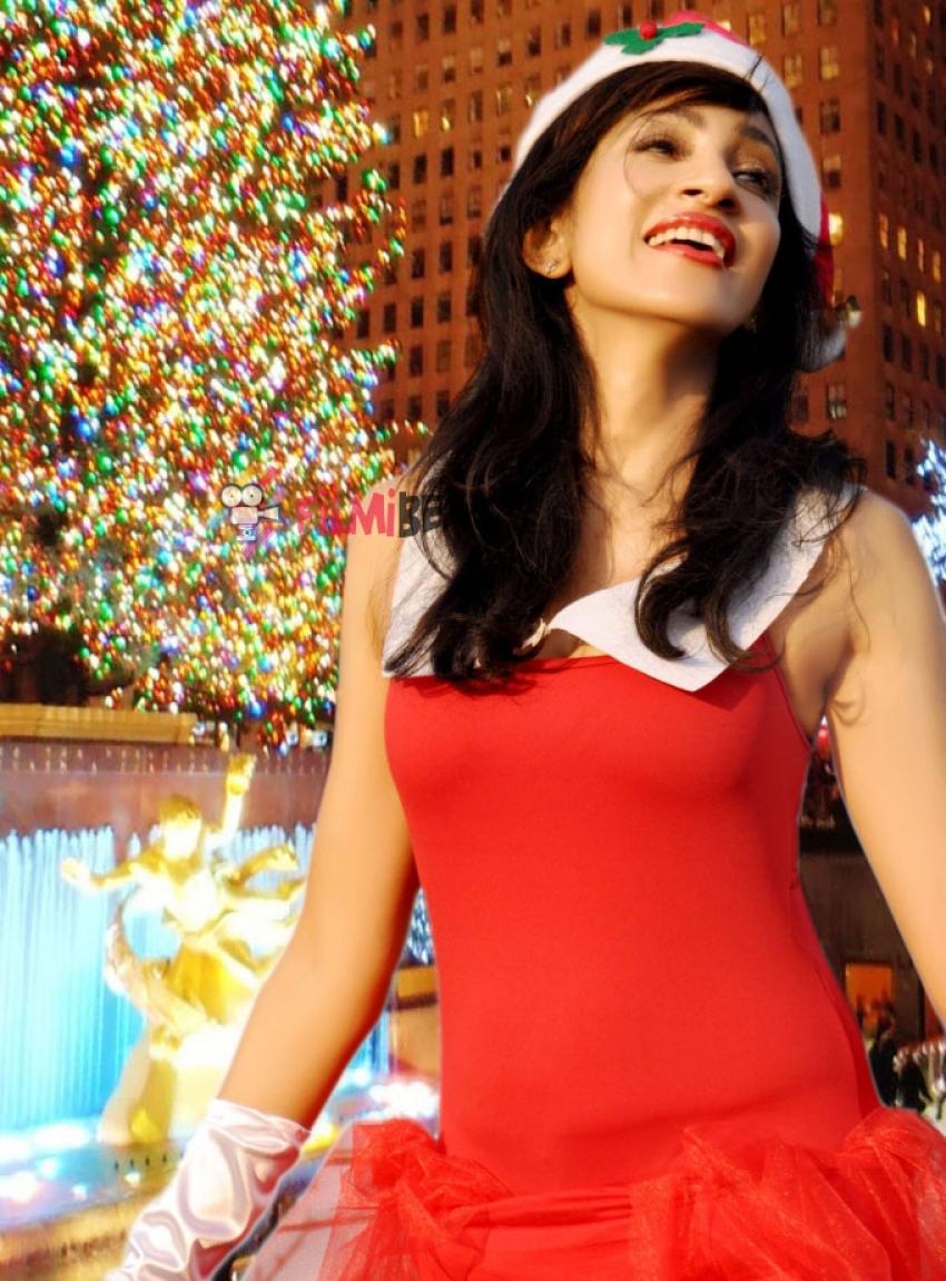 Miss Sri Lanka Chandi As Santa - Photo Shoot Photos