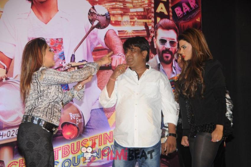 Rakhi Sawant's Friend Slaps Sachindra Sharma(Director Of Mumbai Can Dance Sala) Photos