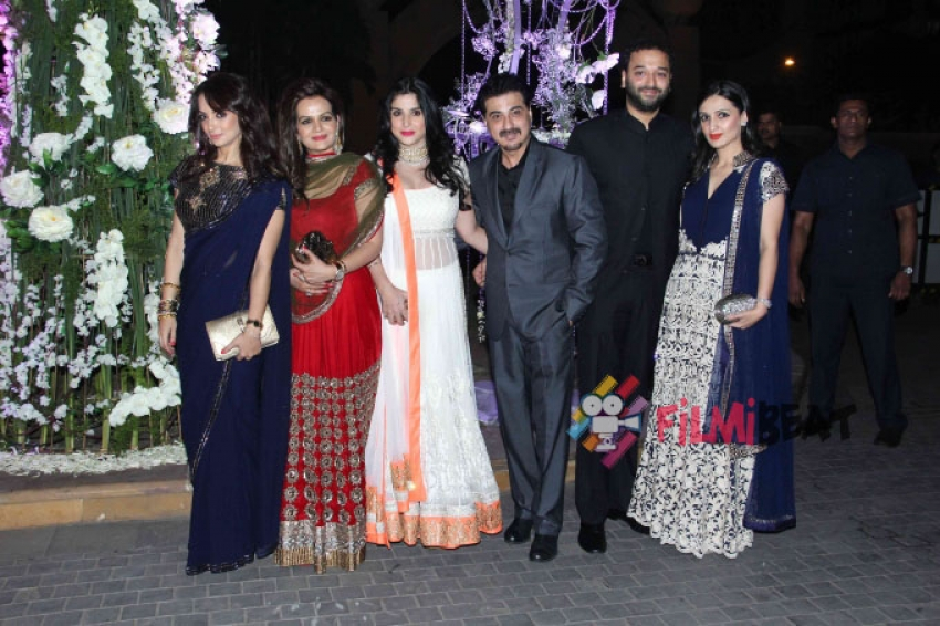 Tejas and Riddhi Malhotra Sangeet Ceremony Photos