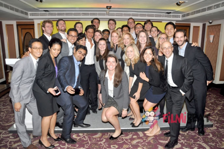Stanford Students' Special Meeting With Shahrukh Khan Photos