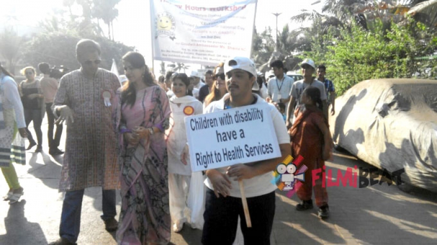 Salim Khan Flags Off Celebratory Walk Photos