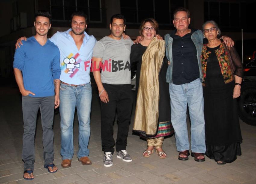 Salman Khan's Mother Salma Khan's Birthday Celebrations Photos