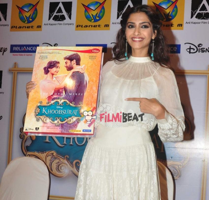 Khoobsurat Movie DVD Launch Photos