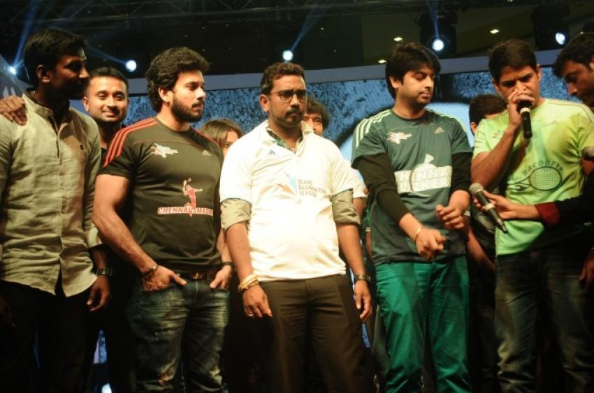 Stars Badminton League Curtain Raiser Ceremony Photos