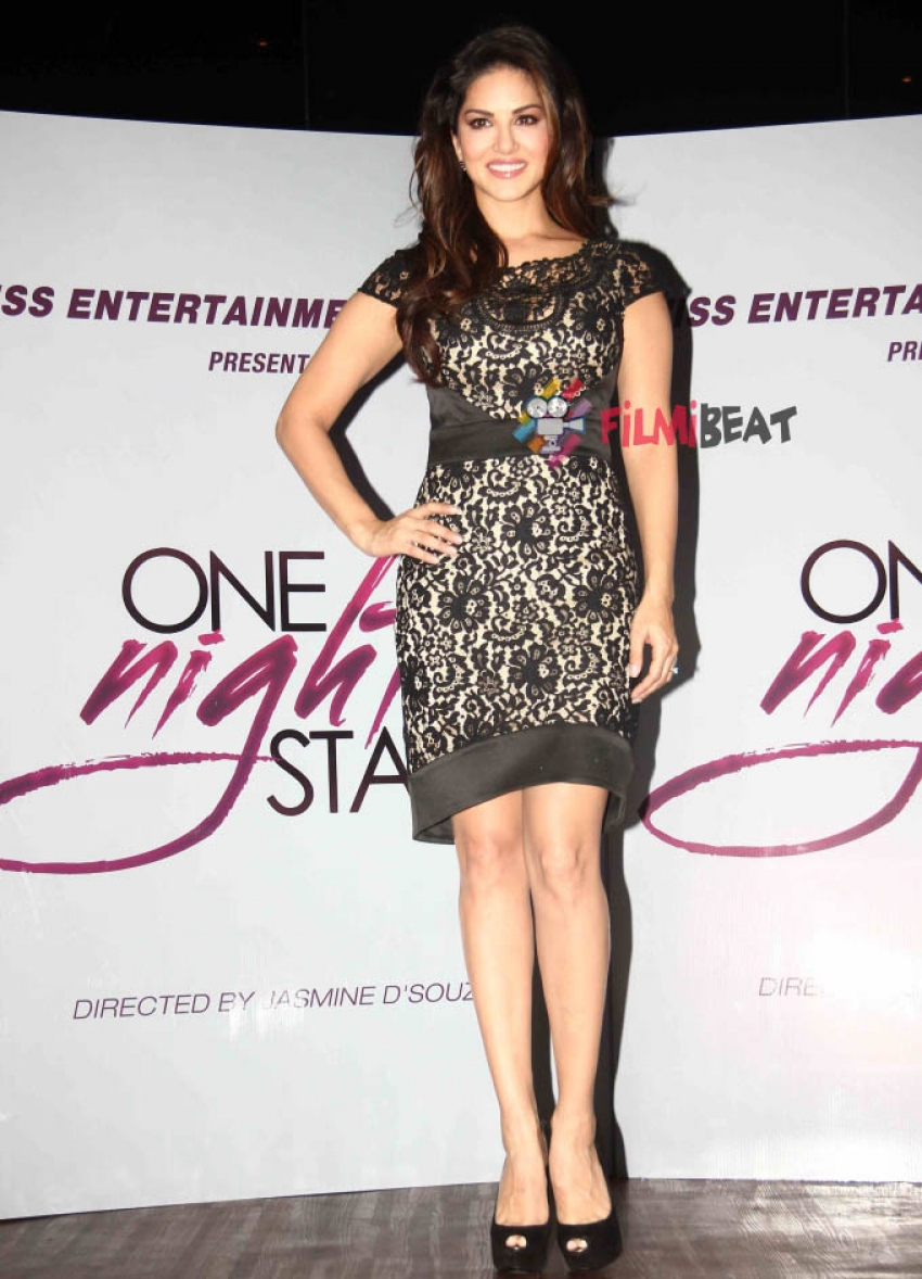 One Night Stand Film Promotion Photos