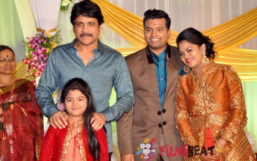 Talasani Srinivas Yadav Daughter's Wedding Reception Photos