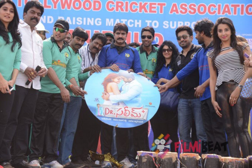 Tollywood Cricket Association Hudhud Cricket Match Photos