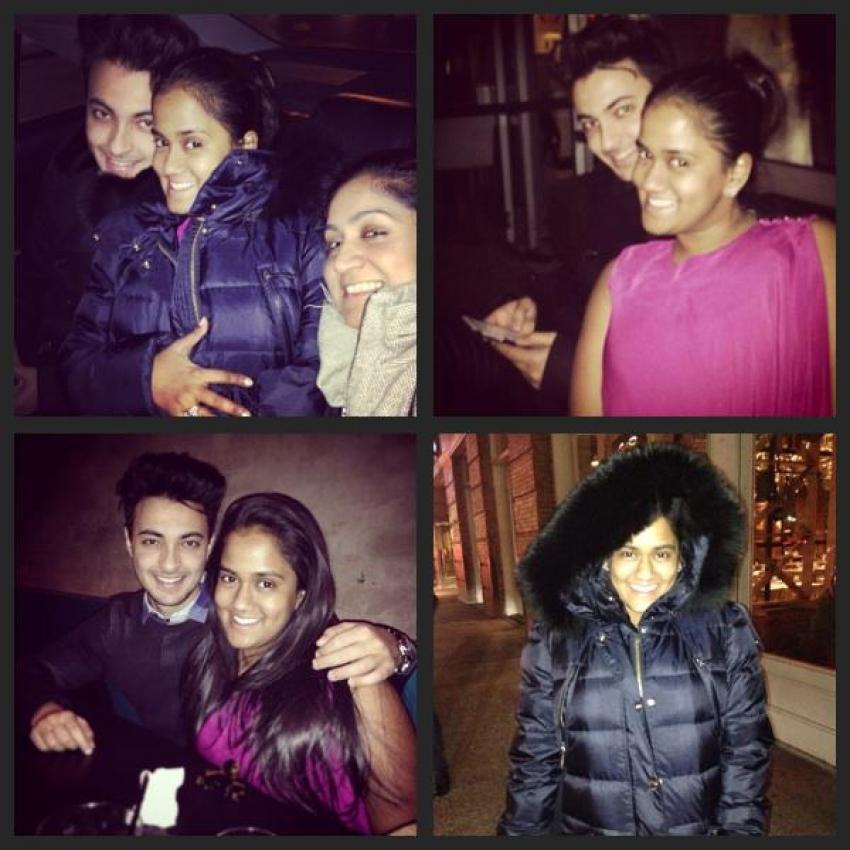 Arpita Khan And Aayush Sharma Adorable Photos From New York Honeymoon Photos