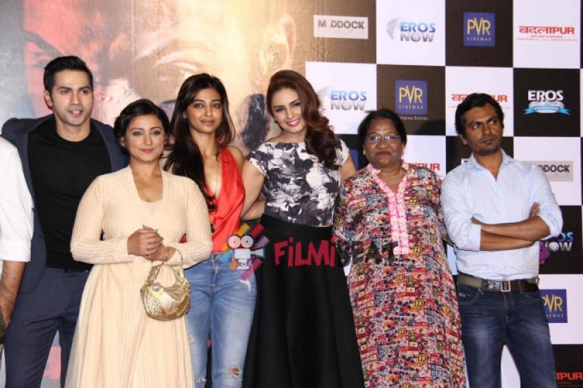 Badlapur Film Trailer Launch Photos