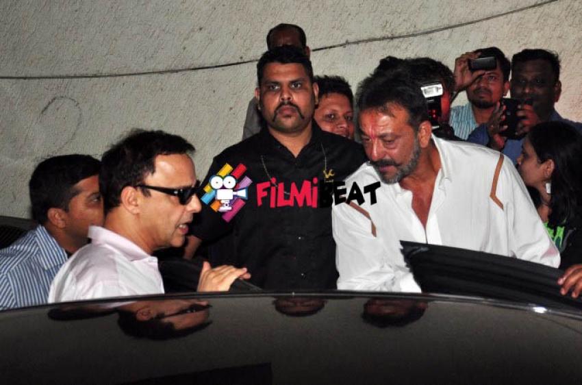 Special Screening Of Pk for Sanjay Dutt Photos