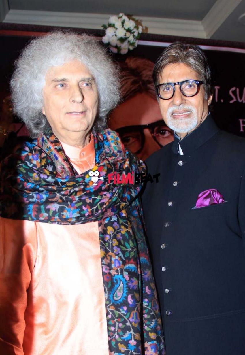 Amitabh Bachchan Receives 2nd Yash Chopra Memorial Award Photos