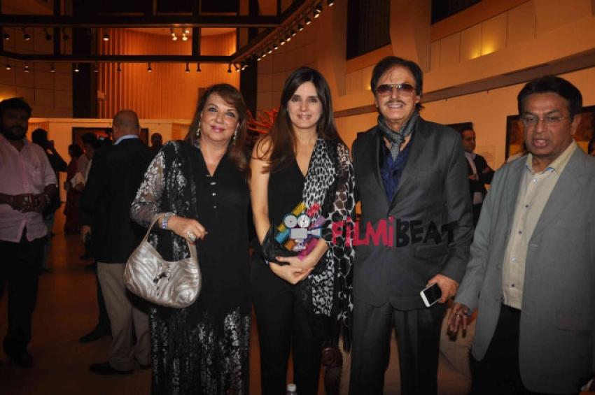 Anil Kapoor, Jackie Shroff & Fardeen Khan Grace An Art Exhibition Photos