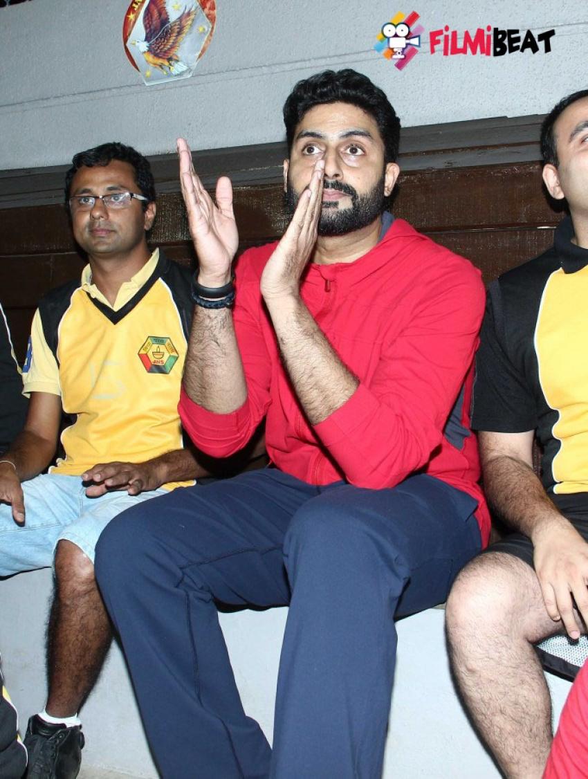 Abhishek Bachchan Launches Multi Sport Court Photos