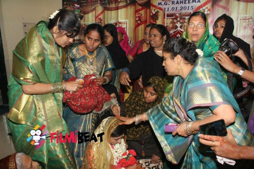 Actress Monica - Malik Wedding Photos