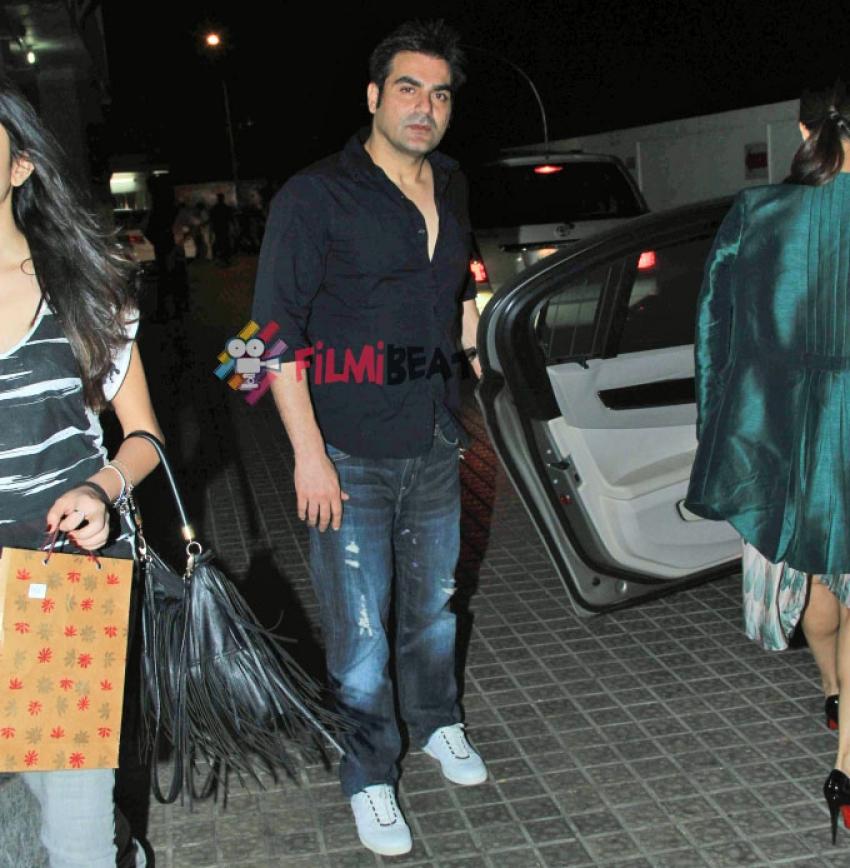 Malaika Arora Khan And Arbaaz Khan Snapped At PVR, Juhu Photos