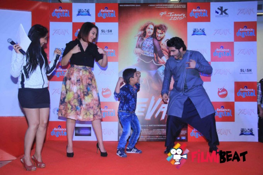Tevar Movie Promotion at Infinity Mall Photos
