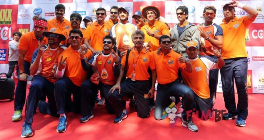 CCL 5 Mumbai Heroes Vs Veer Marathi Photos