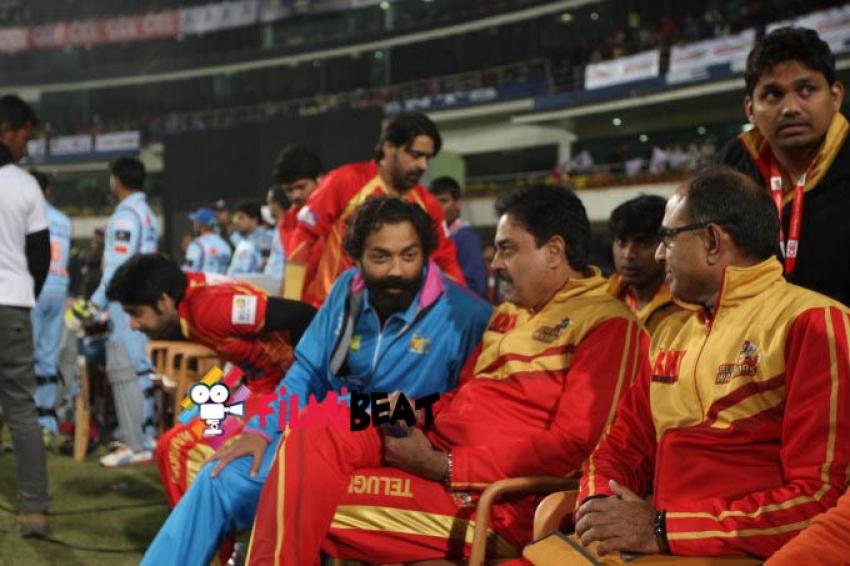 CCL 5 Telugu Warriors Vs Bhijpuri Dabangs Match Photos