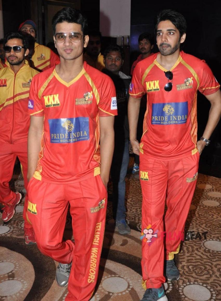 CCL Telugu Warriors Press Meet 2015 Photos