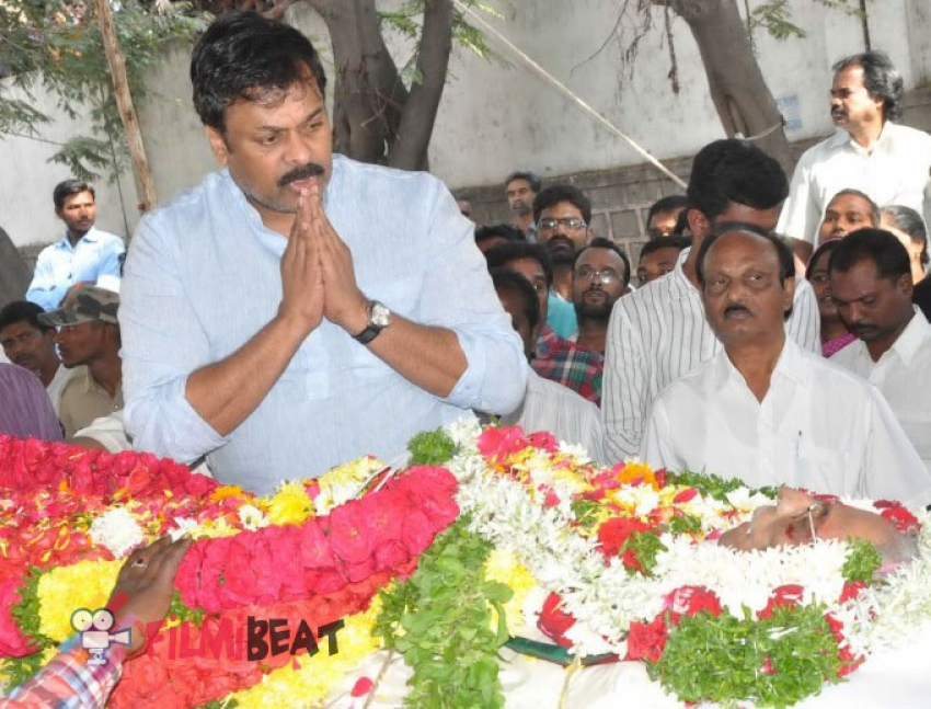 Celebs Pay Homage To V. B. Rajendra Prasad Photos