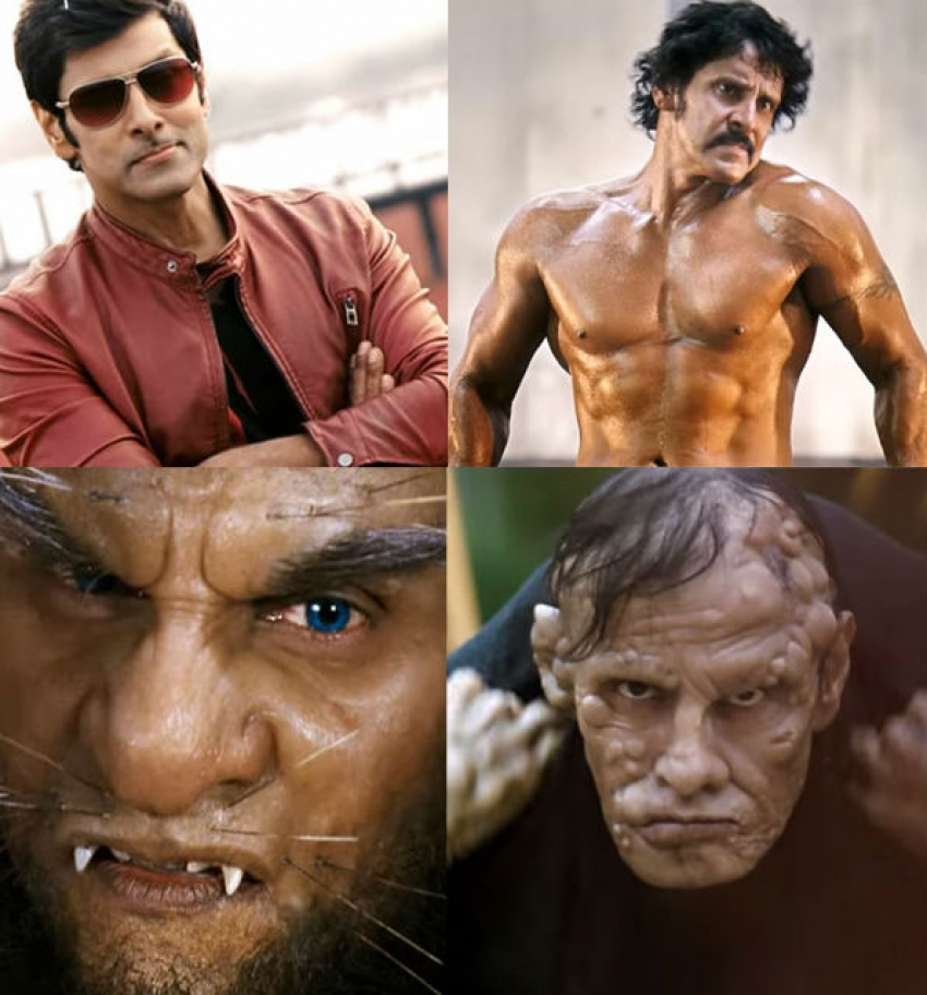 Chiyaan Vikram's Different Looks Photos