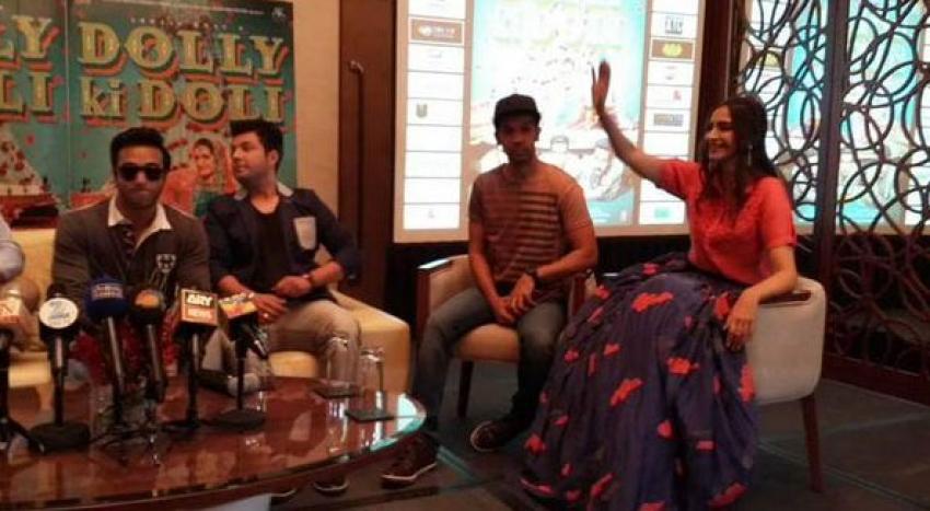 Dolly Ki Doli Press Meet At Dubai Photos