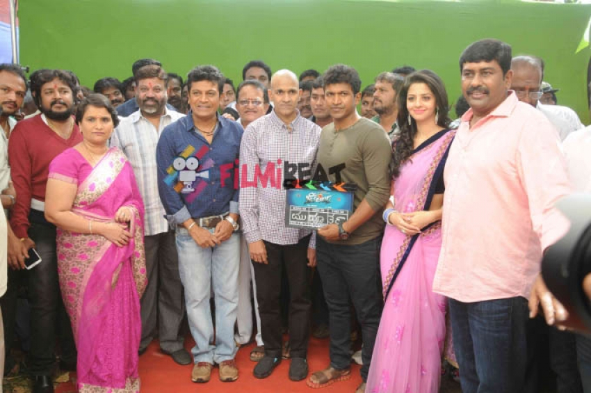 Shivalinga Film Launch Photos