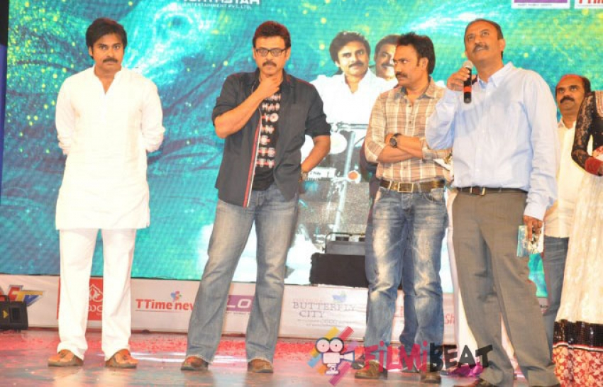 Gopala Gopala Audio Launch Photos