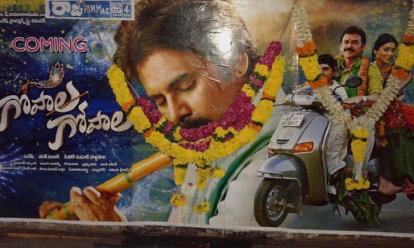 Fans Craze Over Gopala Gopala Photos