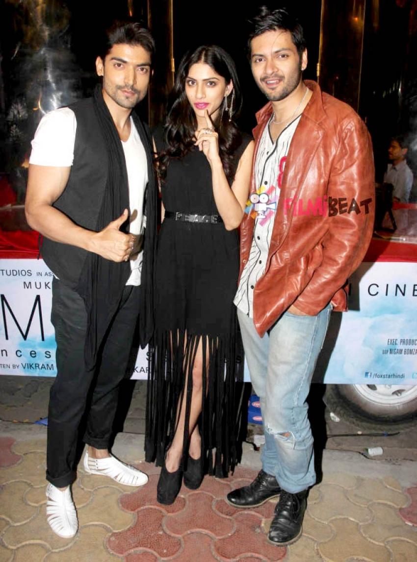 Ali Fazal, Sapna Pabbi & Gurmeet Choudhary Promote Khamoshiyan Photos