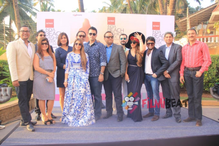 India Beach Fashion Week Goa 2015 Press Conference Photos