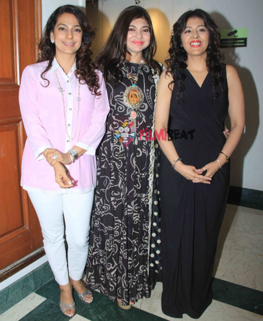 Juhi Chawla At 'The Windwoods' Book Launch Photos