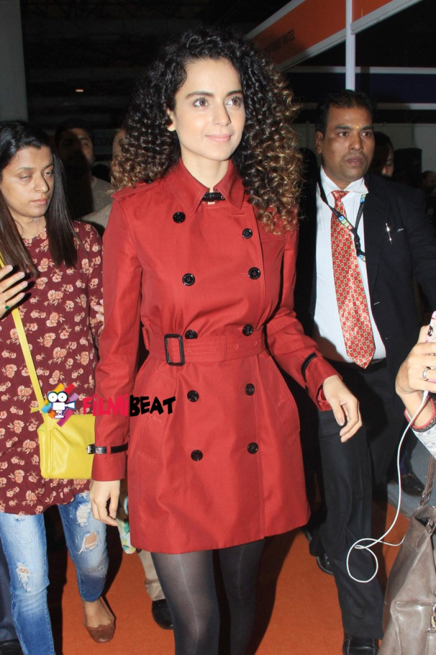 Kangna Ranaut Attended A Travel Exhibition Photos