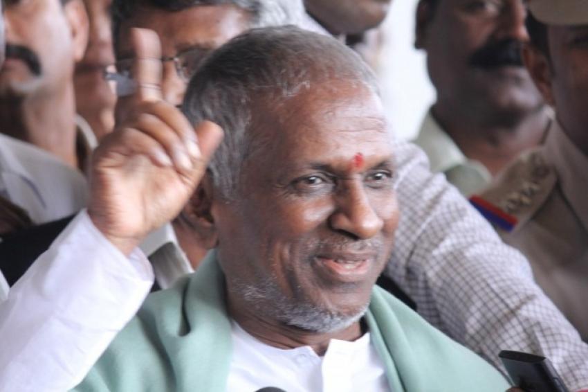 Maestro Ilayaraja Arriving To Chennai After Shamitabh Audio Launch Photos
