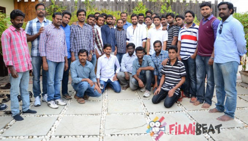 Nara Rohit Meets Fans In Hyderabad Photos