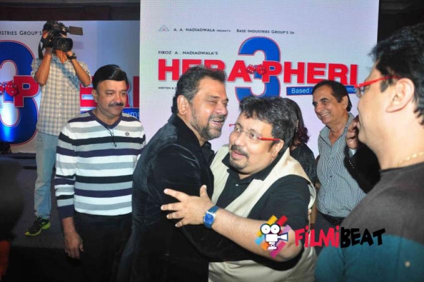 Unveiling Of The Star Cast Of Movie Hera Pheri 3 Photos