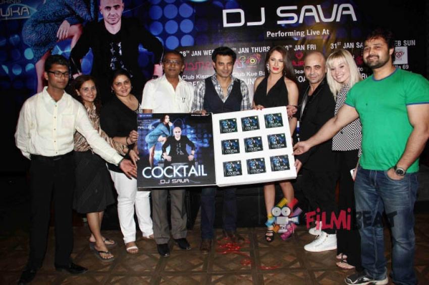 DJ Sava's 'Cocktail' Album Launch Photos