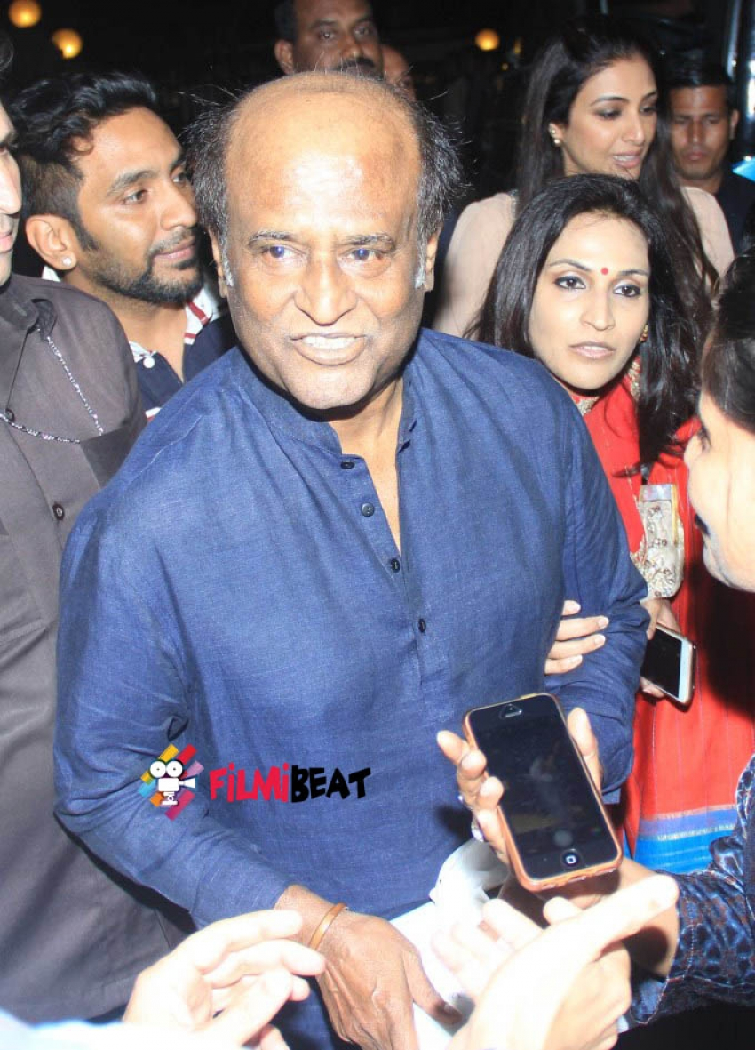 Rajinikanth, Kamal Hassan Attend Shamitabh Music Launch Photos