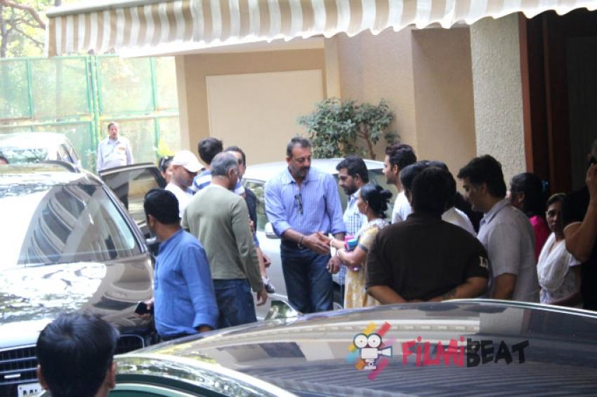 Sanjay Dutt Returns To Jail Photos