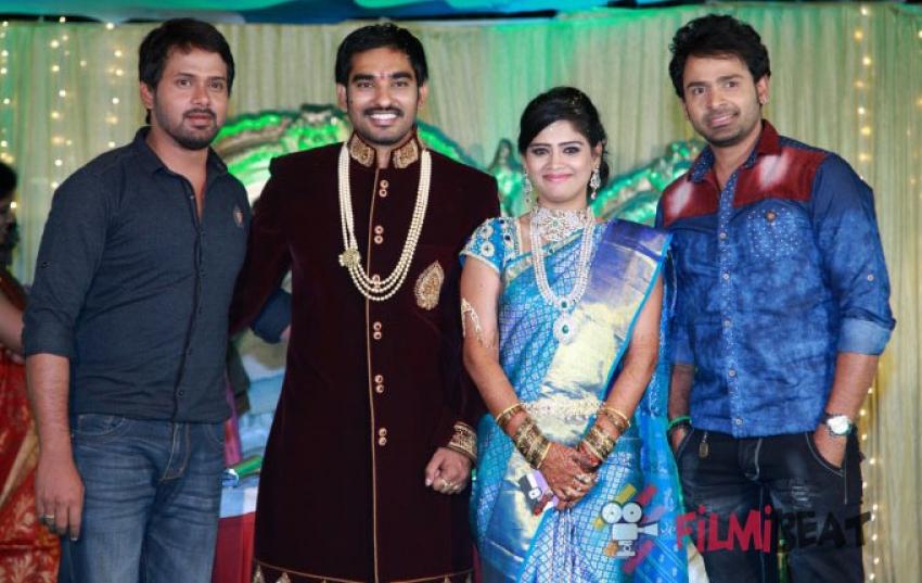 Santosh Pavan Weds Anjali Photos