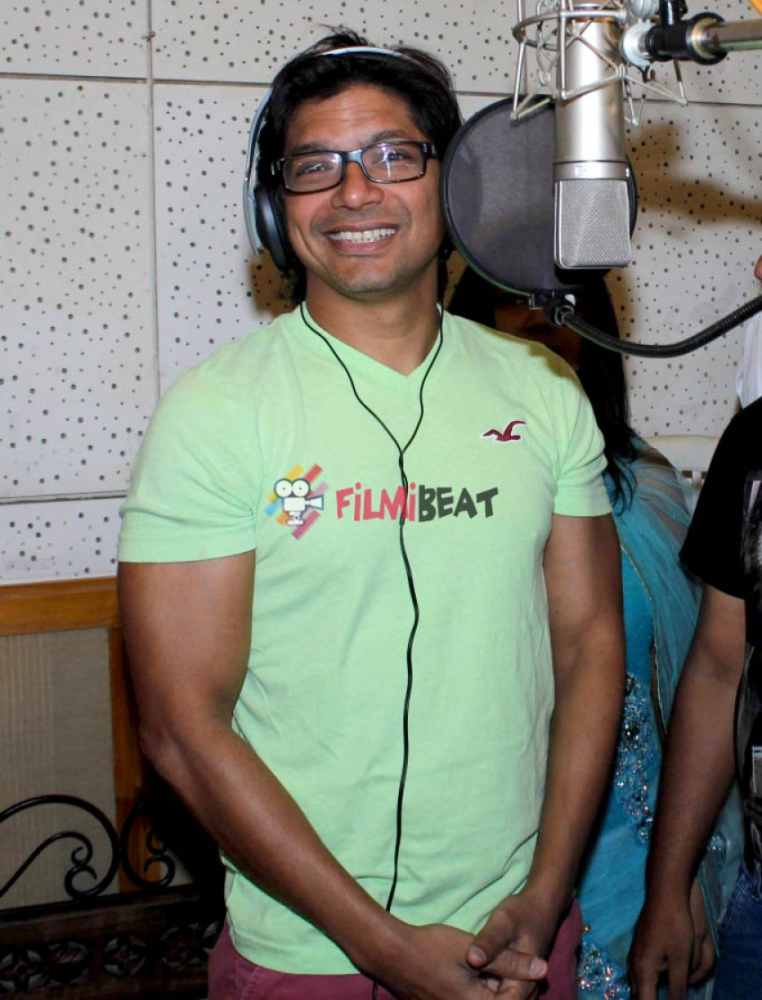 Shaan's Music Album Recording With Yasmeen Ahsan Photos