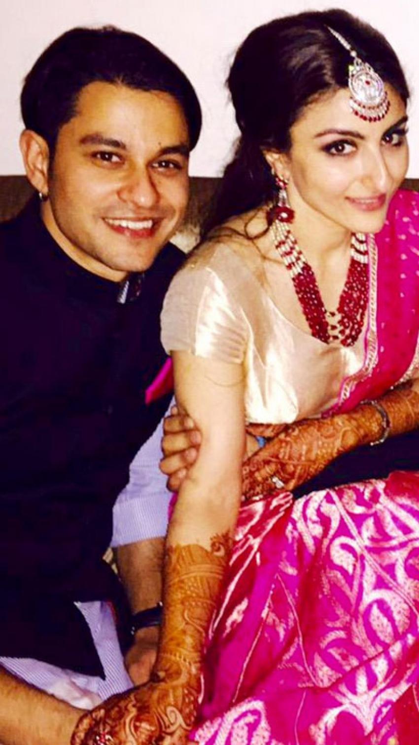 Soha Ali Khan Weds Kunal Khemu Photos