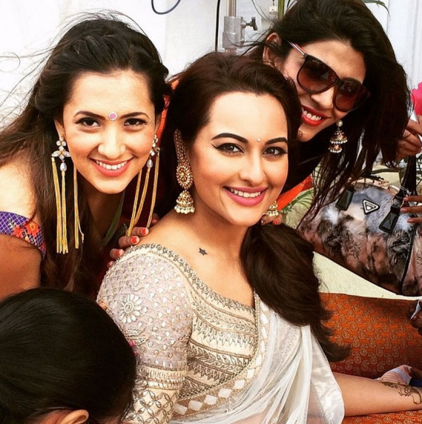 Sonakshi Sinha Brother Kush Wedding Photos